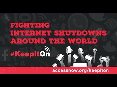 #KeepitOn - fighting Internet shutdowns around the world