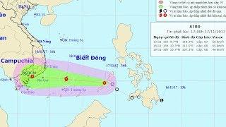 Tin Áp Thấp Mới Nhất 2017 :Tin áp thấp nhiệt đới trên Biển Đông