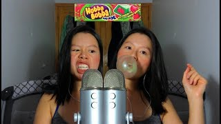 MOOD: ASMR Chewing Gum (Hubba Bubba) + Pissed Off About Everything, Bubble GumBlowing 🍬😂😂😂😂😂