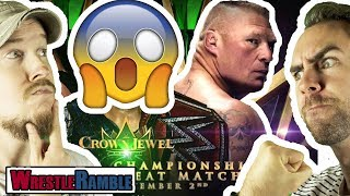 Brock Lesnar For WWE Crown Jewel REVEALED! WWE Raw, Sept. 17, 2018 Review | WrestleRamble
