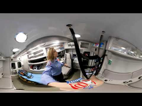 screenshot of youtube video titled Lexington County EMS 360 | Let's Go! CAREERS