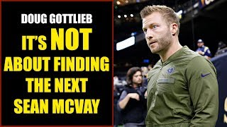 Doug Gottlieb: It's Not About Finding the Next Sean McVay