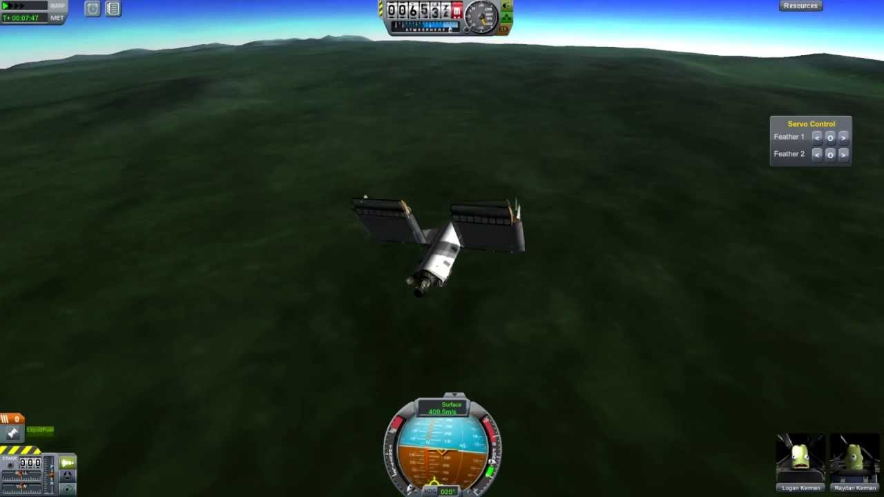kerbal space program re entry - photo #28