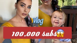 Thank you for 100,000 subs! Vlog
