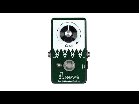 EarthQuaker Devices Arrows Pre Amp Booster Pedal