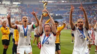 Watch Live: U.S. Women's Soccer Team Celebrates World Cup Win   NBC News