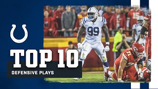 Colts Top 10 | Best Defensive Plays of 2019