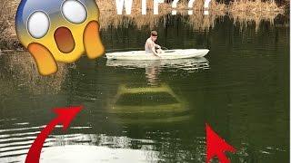 We found a CAR in a pond!! (Underwater Footage)