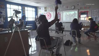 Westbury HS students watch fellow grad NASA astronaut Shannon Walker become first native Houstonian