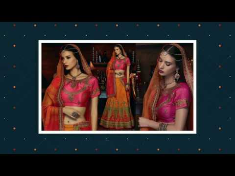 Latest Designer Lengha | Wedding Lehenga Saree & Indian Chaniya Choli Designs for engagement | DNU