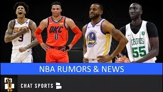 NBA Trade Rumors On Andre Iguodala, Russell Westbrook + Tacko Fall's Future & Kelly Oubre To Suns