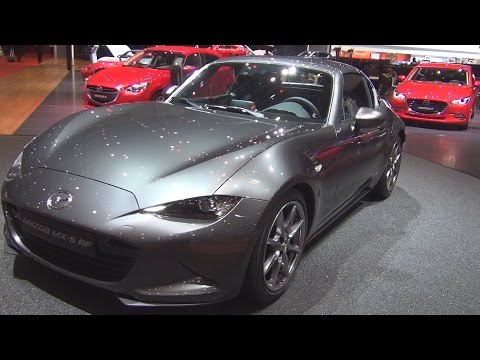 @NewsFromMazde Mazda #MX-5 RF Revolution SkyActiv G 160 MT6 Grey (2017) Exterior and Interior in 3D