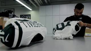 Behind The Scenes with the New York Jets Equipment Crew