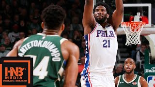 Milwaukee Bucks vs Philadelphia Sixers Full Game Highlights | March 17, 2018-19 NBA Season