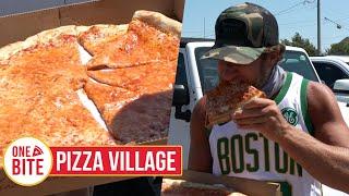 Barstool Pizza Review - Pizza Village (Montauk, NY) Bonus Cookie Review