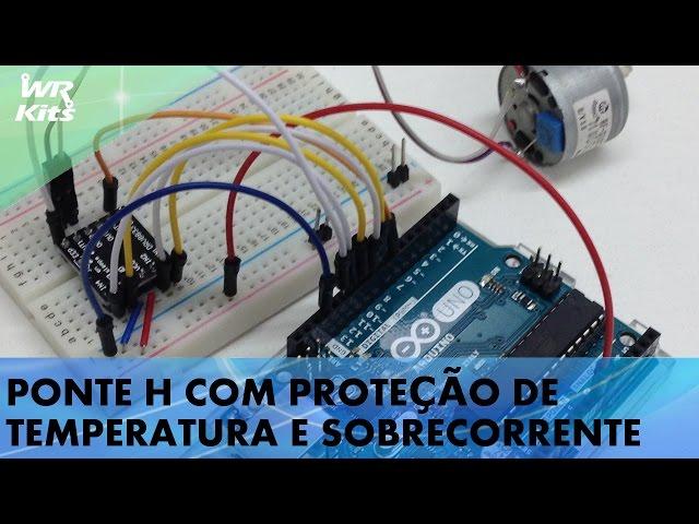 PONTE H COM PROTEÇÃO DE TEMPERATURA E SOBRECORRENTE