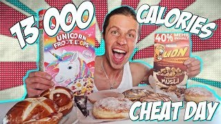 13,000+ CALORIE CHEAT DAY CHALLENGE I PASTRIE OVERLOAD