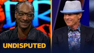 Snoop Dogg gifts Drip Bayless, talks about his Steelers and other NFL topics | NFL | UNDISPUTED