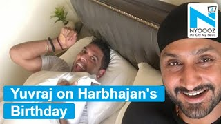 Yuvraj Singh posts hilarious birthday wish for Harbhajan S..