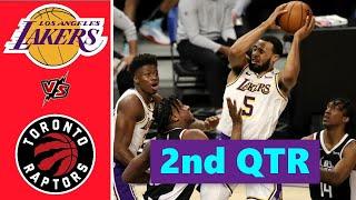 Los Angeles Lakers vs. Toronto Raptors Full Highlights 2nd Quarter | NBA Season 2021