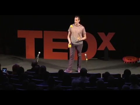 Repeat youtube video The evolution of juggling: Jay Gilligan at TEDxHelsinki