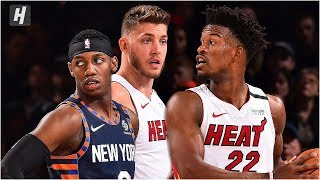 Miami Heat vs New York Knicks - Full Game Highlights | January 12, 2020 | 2019-20 NBA Season