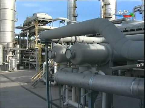 Azərbaycan Metanol Şirkəti 100 min ton metanolu dünya bazarına ixrac edib / AZTV 2014 Dekabr