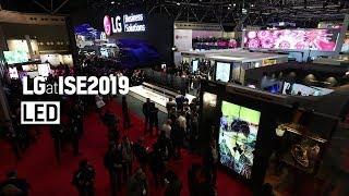 [ISE 2019] LG Booth #2 LED Signage
