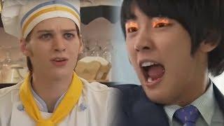 Jung Hyuk nổi điên khi thấy trai tây tán tỉnh Sekyung mà mình không hiểu nói gì