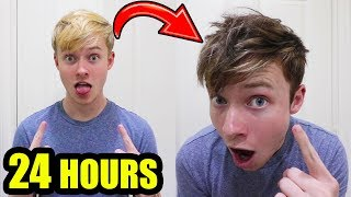 I Said YES to EVERYTHING My Girlfriend Said for 24 HOURS!!! (DYED HAIR)
