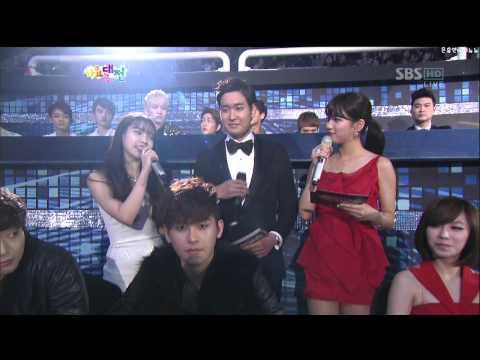 121229 SBS 가요대전 SM7 Collaboration MIN HO+TAE MIN + SHINEE CAMERA 샤이니