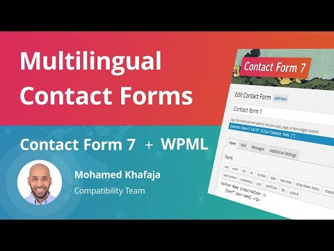 video Contact Form 7 v1.0.0 – WPML Addon