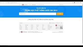 ĐÓ ĐÂY TV   Tra cứu điểm thi THPT quốc gia 2019 miễn phí nhanh nhất