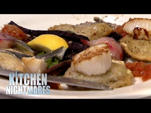 Customer Finds A ROCK IN HER FOOD | Kitchen Nightmares