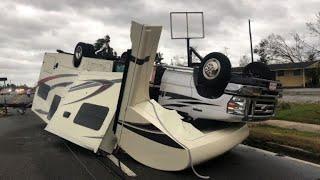 Damage to Panama City as Hurricane Michael hits