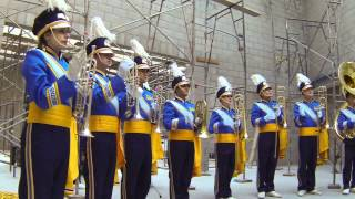 Construction Zone Performances— UCLA Bruin Marching Band GoPro Fight Song