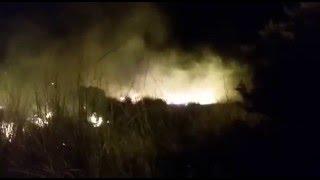 Incendio en Villa General Arias