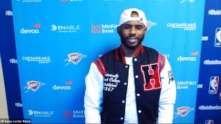 Chris Paul Postgame Interview | Thunder vs Lakers | August 5, 2020