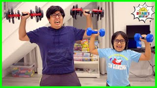 Copying my Dad for 24 hours Challenge