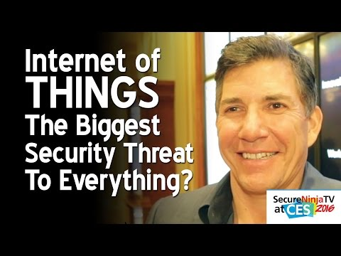Is The Internet Of Things Our Biggest Security Threat?