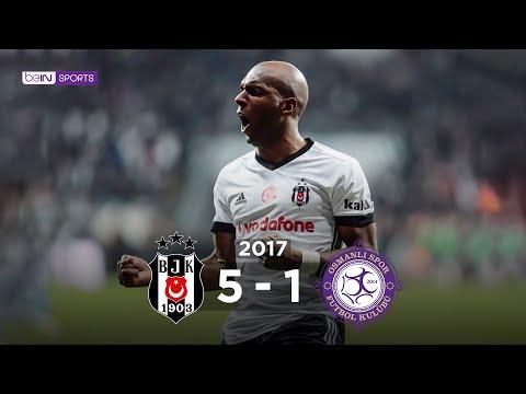 Beşiktaş 5 - 1 Osmanlıspor FK #Özet