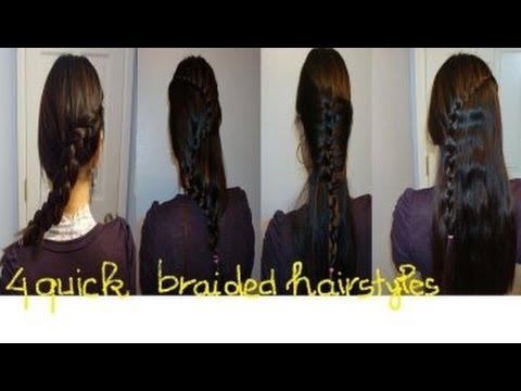 hướng dẫn tóc: 4 kiểu bím tóc nhanh chóng