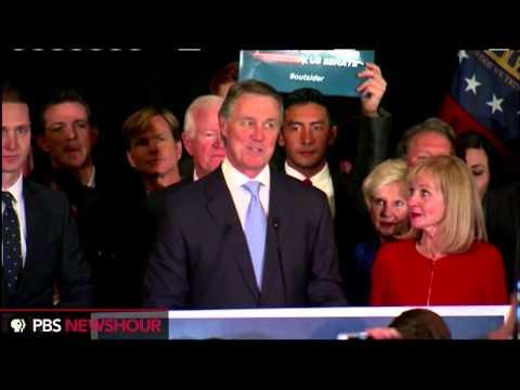 David Perdue delivers victory speech after winning Georgia senate race