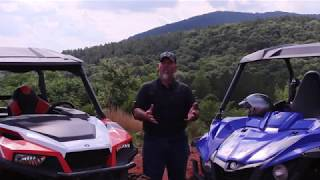 2017 Yamaha Wolverine R Spec vs Polaris General Deluxe
