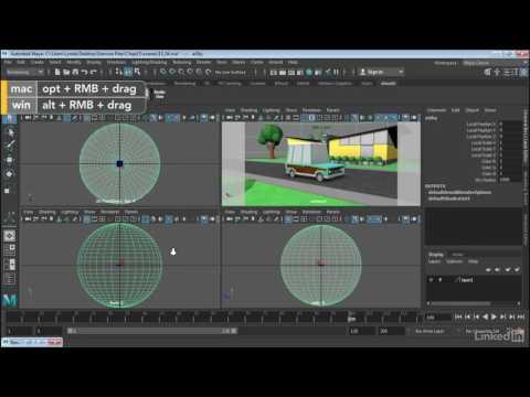 Maya 2017 Essential Training | Create image-based lighting in Arnold