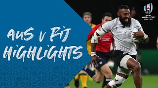 HIGHLIGHTS: Australia vs Fiji - Rugby World Cup 2019
