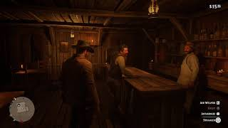 Red Dead Redemption 2 Arthur helps uncle