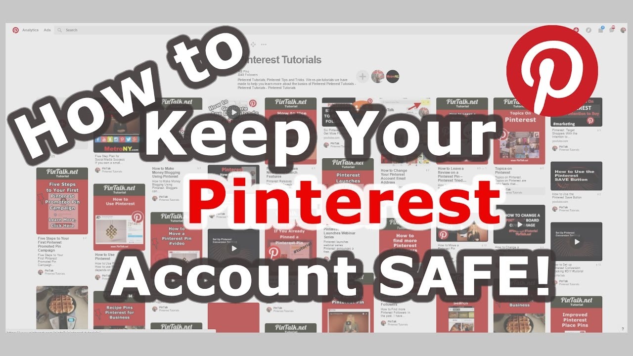 How to Keep Your Pinterest Account Safe! Email Login