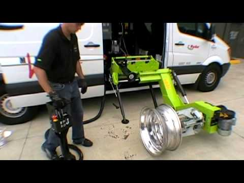 Mobile Tire Changer Ws 561 C Youtube