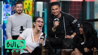 """The Cast Of MTV's """"Jersey Shore Family Vacation"""" Drop In To Chat About Their Show"""